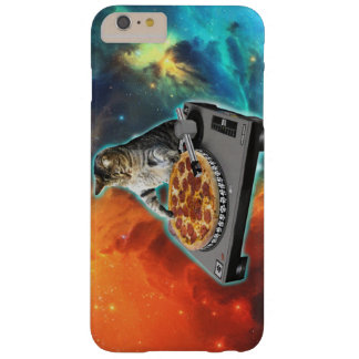 Cat dj with disc jockey's sound table barely there iPhone 6 plus case