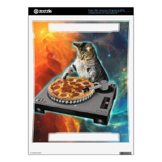 Cat dj with disc jockey's sound table skin for xbox 360