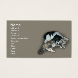 Cat & Dog Business Card