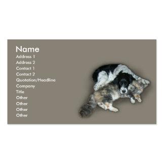 Cat & Dog Business Card Templates