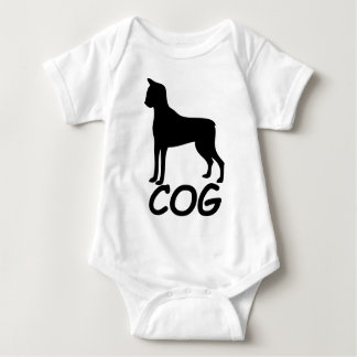 Cat + Dog = Cog Baby Bodysuit