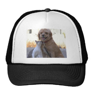 Cat Dog Love Trucker Hat