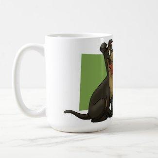 Cat & Dog Mug mug