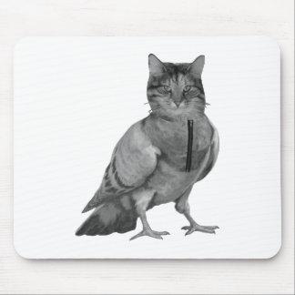 Cat Doing Bird Mouse Pad