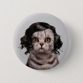 Cat Doll Personality of a Cat Button