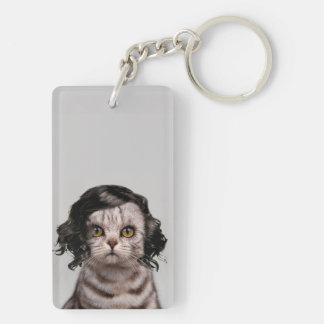 Cat Doll Personality of a Cat Keychain