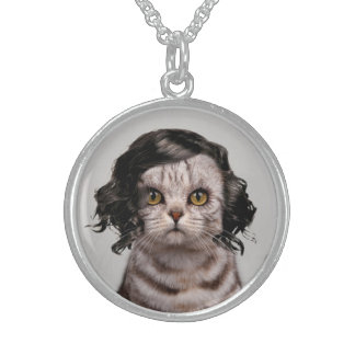 Cat Doll Personality of a Cat Necklace