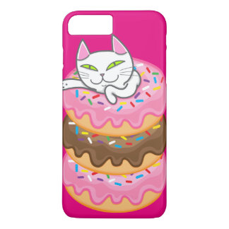 Cat & donuts iPhone 8 plus/7 plus case