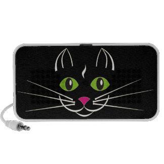 Cat Doodle Laptop Speakers
