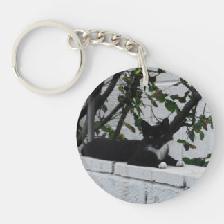 Cat Double-Sided Keychain - Version 07