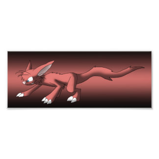 Cat Dragon Photo Print