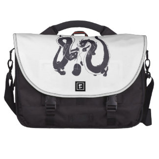 Cat dragons need to play with mice too laptop messenger bag