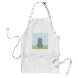 Cat dreams adult apron