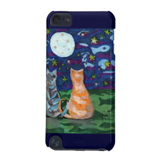 Cat Dreams art moon,stars iPod Touch 5G Covers