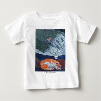 cat dreams baby T-Shirt