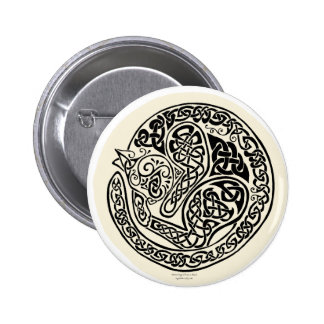 Cat Dreams Celtic Black Ivory Pins