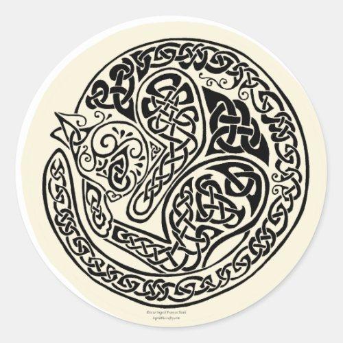 Cat Dreams Celtic Black Ivory