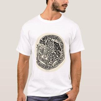 Cat Dreams Celtic Black Ivory T-Shirt