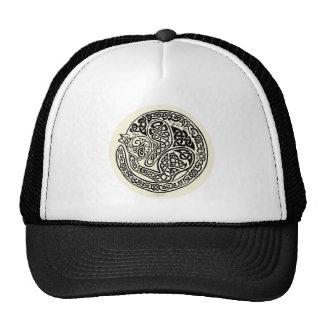Cat Dreams Celtic Black Ivory Trucker Hat