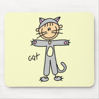Cat Dress Up Tshirts and Gifts Mouse Pad