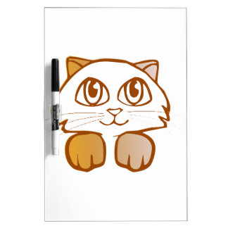 Cat Dry Erase Board