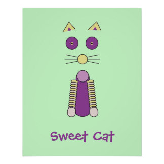 CAT dulce Posters