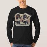 Cat Duo Men's dark long sleeve T-Shirt
