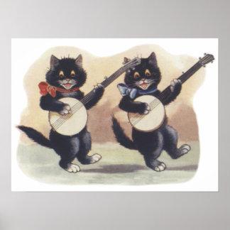 Cat Duo Poster