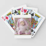Cat Easter Bunny Claude Bicycle Playing Cards