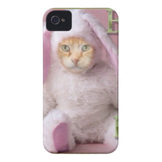 Cat Easter Bunny Claude iPhone 4 Case