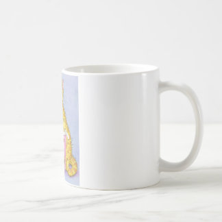 CAT eats ice cream Classic White Coffee Mug
