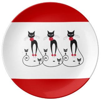 Cat elegance PERSONALIZE Plate