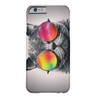 CAT EN ESPACIO FUNDA DE iPhone 6 BARELY THERE