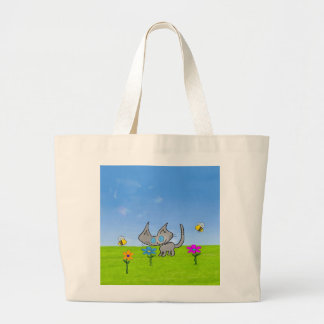 Cat Enjoing The Summer Fun Canvas Bag