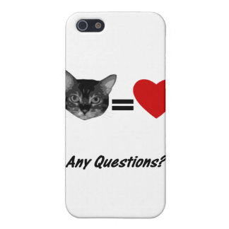 Cat Equals Love Cover For iPhone SE/5/5s