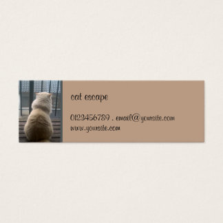 Cat Escape small Business Card