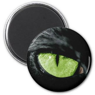 Cat eye 2 inch round magnet