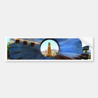 Cat Eye Cat City Bumper Sticker