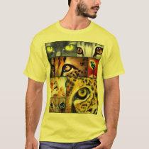Cat Eye Collage T-Shirt