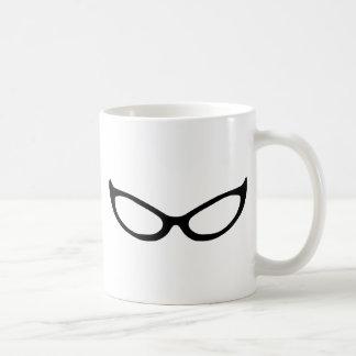 Cat Eye Glasses Coffee Mugs
