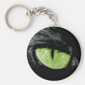 Cat eye keychain