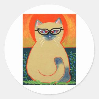 Cat Eye Kitty Stickers