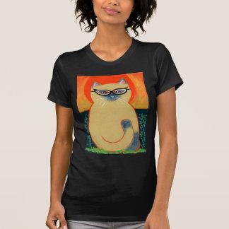 Cat Eye Kitty Tee Shirts