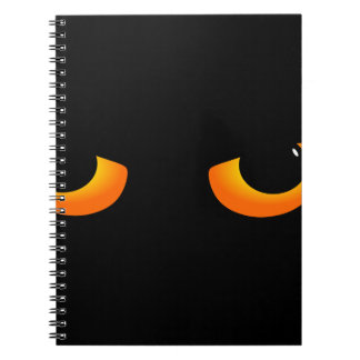 Cat eye notebook