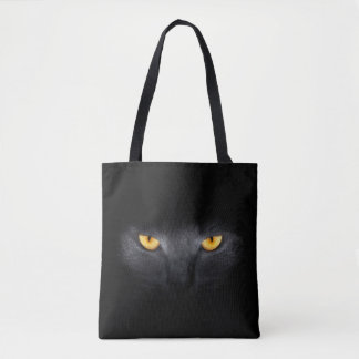 Cat Eyes All-Over-Print Tote Bag