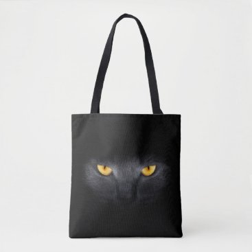 FantasyApparel Cat Eyes All-Over-Print Tote Bag