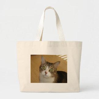 Cat Eyes Tote Bags