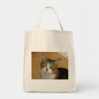 Cat Eyes Canvas Bag