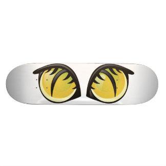 Cat Eyes Cartoon Skate Deck