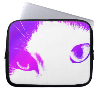 Cat Eyes (Colored) Electronics Bag Laptop Computer Sleeve